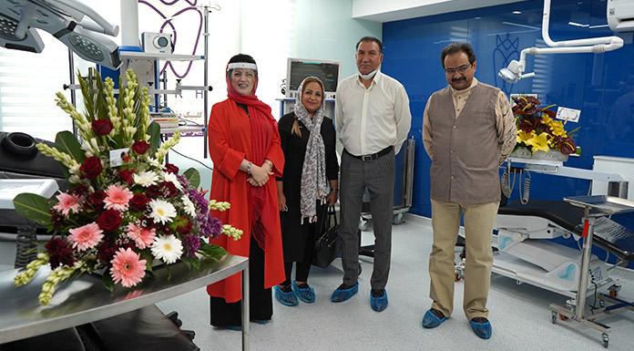 جناب استاد درهمی، دکتر ابوبکری و همسر محترمشان