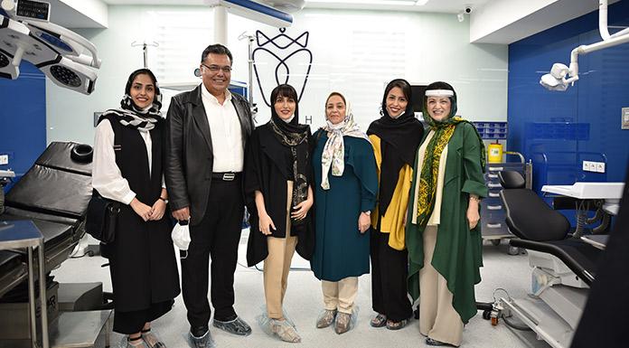 جناب آقای دکتر آزادی، خانم دکتر نوراللهیان و خانواده محترم