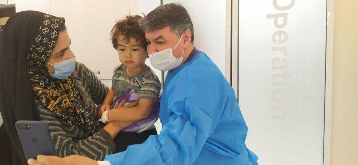 دندانپزشکی کودکان تحت بیهوشی مشهد