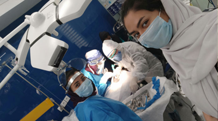 اتاق عمل دندانپزشکی کلینیک کاخ